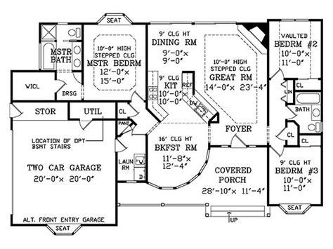 small split level house plans planning ideas cute split level house floor plans
