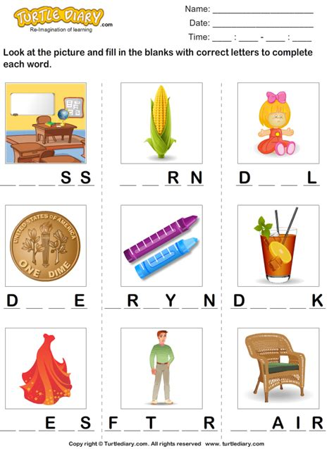 printable missing word games letters 187 word missing letters free math worksheets for