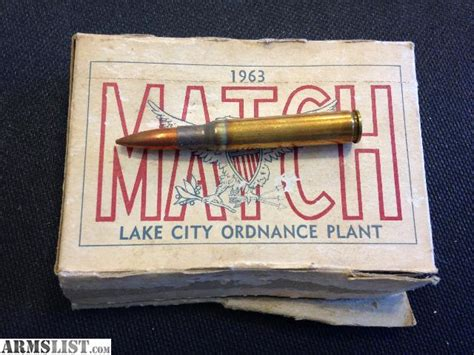 Tshirt Sale Lake City armslist for sale 1963 lake city match ammo 30 06