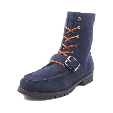 polo boot mens ranger boot by polo ralph blue 869703