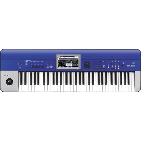 Korg Krome 61 korg krome workstation blue krome61bl b h photo
