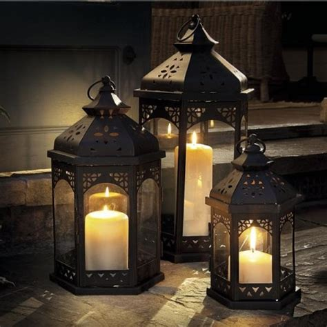 Patio Lantern Lights Decorative Indoor Outdoor Lanterns