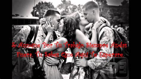 imagenes de amor para soldados mi bello angel los primos mx amor militar youtube