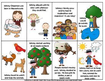 supplemental k 1 johnny appleseed comprehension supplemental activities