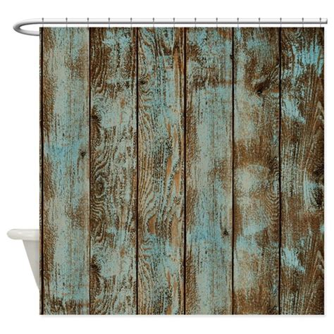 rustic curtain rustic boards shower curtain by simpleshopping