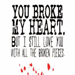 Spring Garden Crafts - you broke my heart pictures photos and images for facebook pinterest and twitter