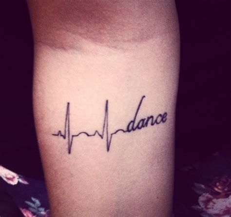 heartbeat dance tattoo image in tattoos collection by jenny on we heart it