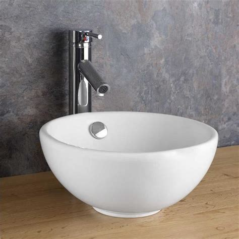 round sink 31 5cm circular basin counter top countertop