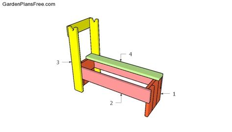 build weight bench wooden weight bench free diy plans free garden plans