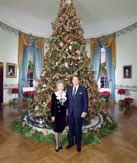 1996 blue room christmas tree holidays
