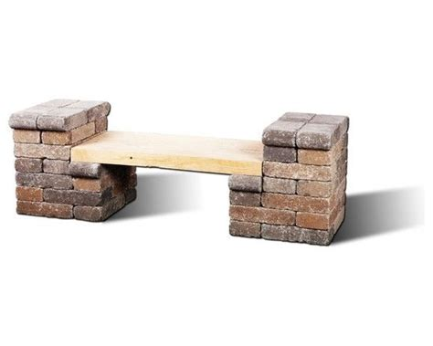 brick and wood bench 92 best images about remodel ideas on pinterest