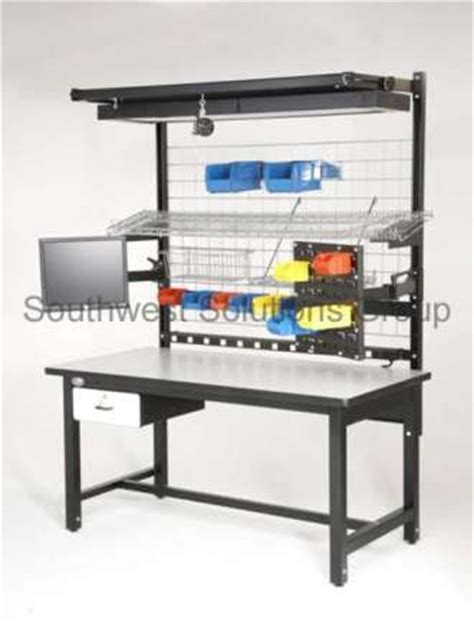assembly bench industrial work benches ergonomic production workstation images