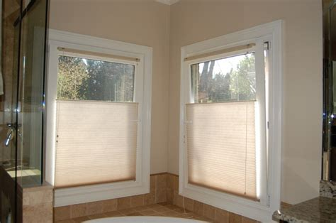 Bathroom Window Shades by Top Bottom Up Shades Traditional Bathroom