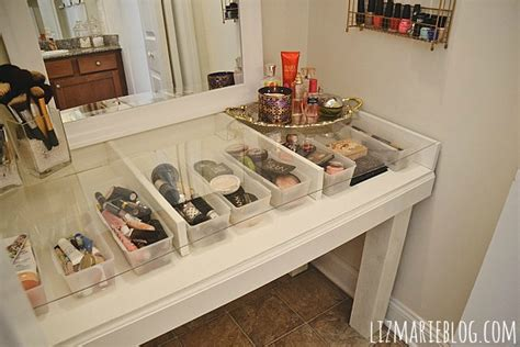 hometalk diy glass top makeup vanity desk