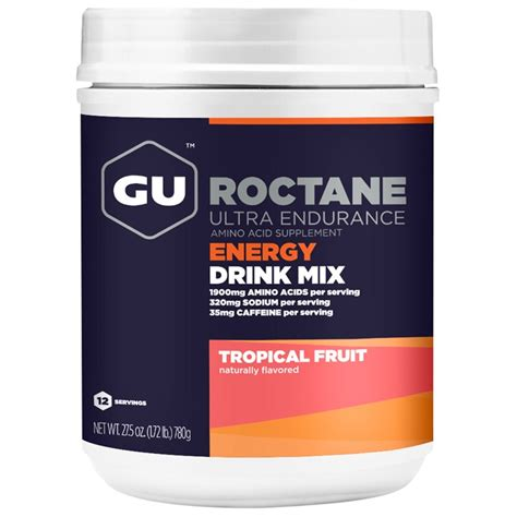 energy drink mixes gu roctane energy drink mix carbohydrate electrolyte