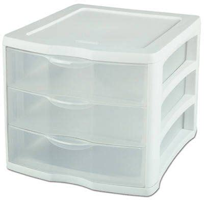 sterilite modular drawers target 4 pack sterilite 17918004 clearview portable 3