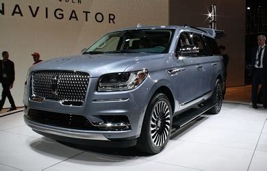 2018 lincoln navigator l black label: price, specs 2018