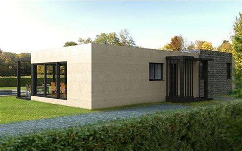 una casa de 100 casa prefabricada cube 100 metros fachada planos una