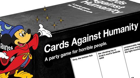 Cards Against Disney Template by Cards Against Humanity A Disney Version 96fm