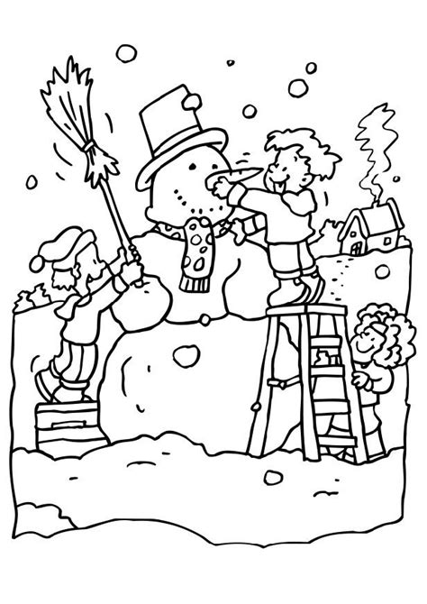 Snow Coloring Page Az Coloring Pages Snow Coloring Pages