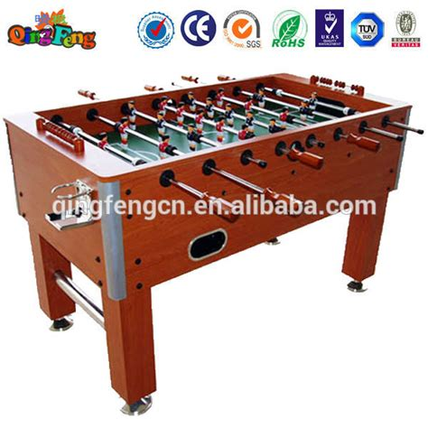 electronic table football qingfeng 10 20 sale foosball soccer table electronic