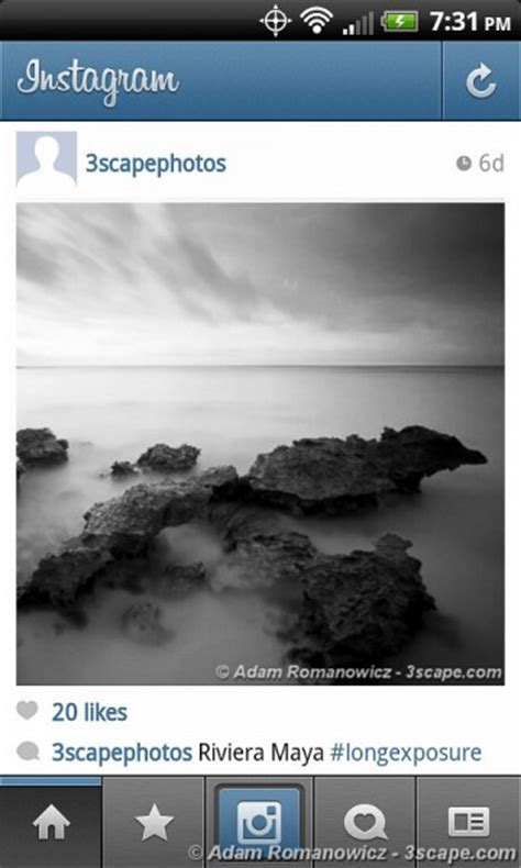and home on instagram instagram for android a user review adam romanowicz photography