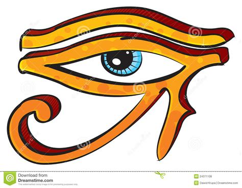 eye of horus royalty free stock photos image 24371108