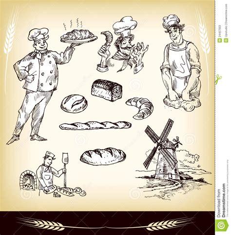 vector conjunto de mano de panader 237 a vintage letras conjunto de la panader 237 a fotos de archivo imagen 24457003