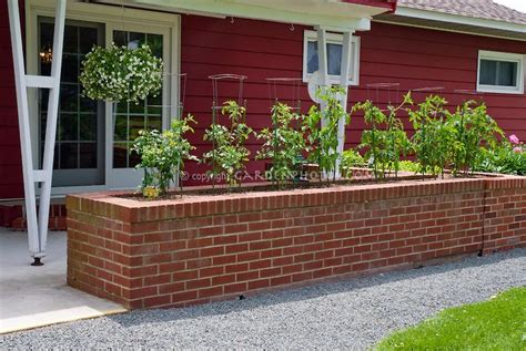 Vegetable Planterbag Raised Bed Tomato Print brick raised vegetable beds tomatoes in raised garden bed made of brick useful for