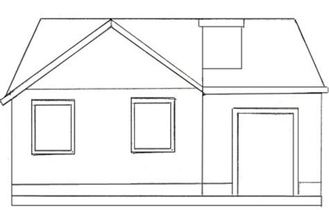 house to draw how to draw a simple house www pixshark com images