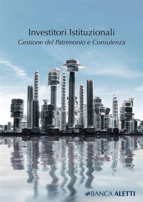 banca aletti investitori istituzionali banca aletti