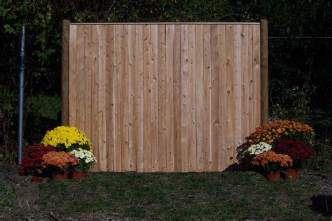 cedar fence sections wood