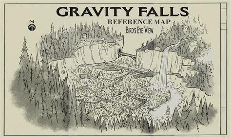map of oregon gravity falls image gravity falls reference map jpg gravity falls wiki