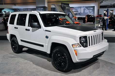 jeep liberty white jeep liberty has date with oblivion next thursday autoblog