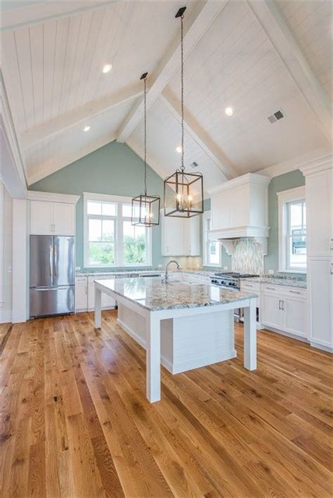 Kitchen Island Lighting For Vaulted Ceiling The 25 Best Vaulted Ceiling Kitchen Ideas On Pinterest White Kitchen Designs Kitchen With