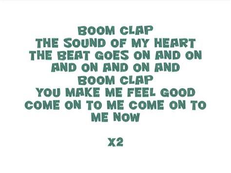 lyrics charli xcx charli xcx boom clap lyrics
