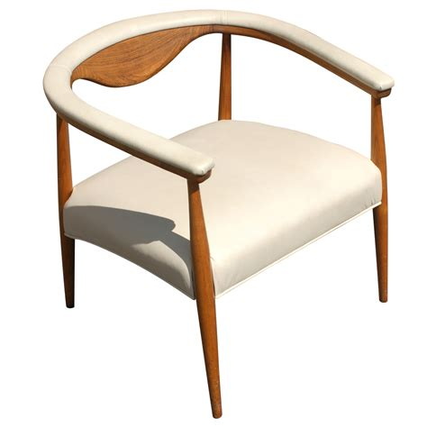 wood and leather chair vintage style wood leather arm chair 10 ebay