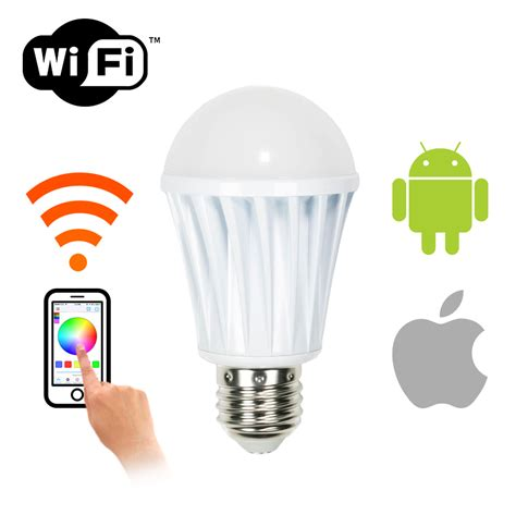 lights that connect to iphone wifi smart led light bulb andriod iphone ios