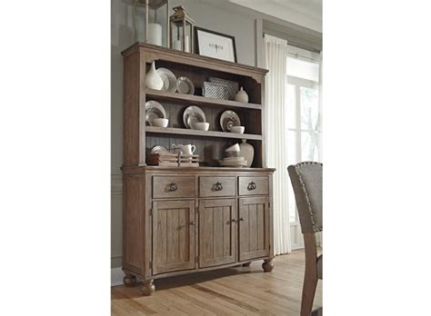 dining room storage buffets servers ashley furniture homestore tanshire server and hutch by ashley furniture furniture