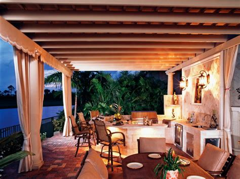 Outdoor Dining Room Ideas 55 Patio Bars Outdoor Dining Rooms Hgtv