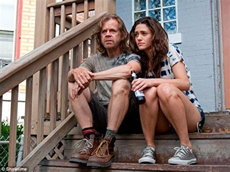 emmy rossum and william macy william h macy says shameless co star emmy rossum is