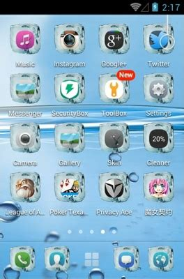 themes for android water water android theme for 360launcher androidlooks com