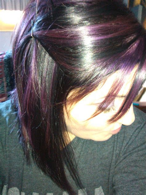 purple shoo for purple highlights purple highlights hairstyles pinterest
