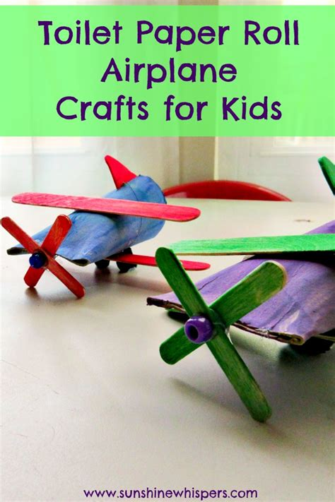 Free Toilet Paper Roll Crafts - toilet paper roll airplane crafts for toilet paper