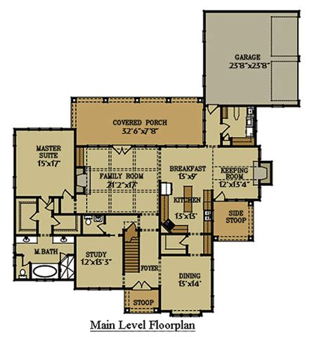 cottage house plans with garage two story cottage house floor plan with garage