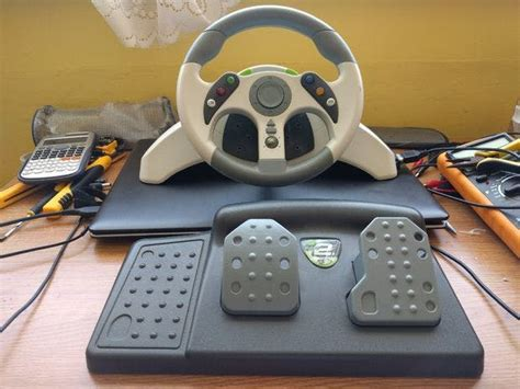 Jual Steering Wheel Using Arduino by Controlling Robot Bluetooth Using Xbox Steering Wheel