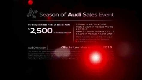 Season Of Audi by Season Of Audi Sales Event Tv Spot Mysterio Y