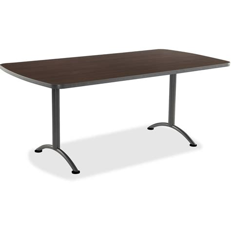 36 inch length desk iceberg utility rectangle top 72 quot top