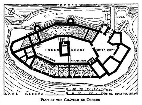 Prison Floor Plan by Chillon Castle