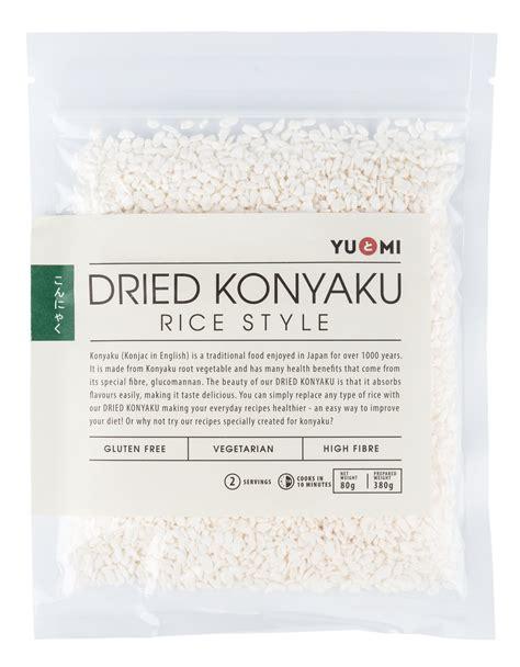 Konyaku Rice dried konyaku rice style 80g yu mi company